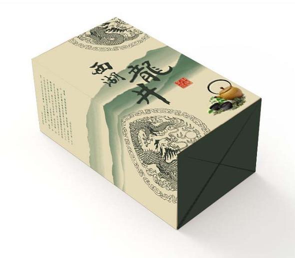 龙井茶叶包装图案选取!