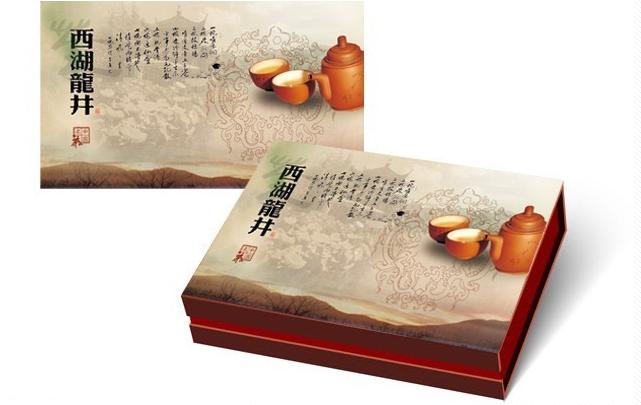 西湖龙井茶叶包装案例!