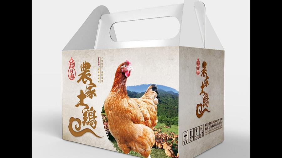 农家土鸡包装盒