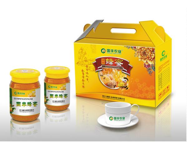 蜂蜜食品包装礼盒设计-主图
