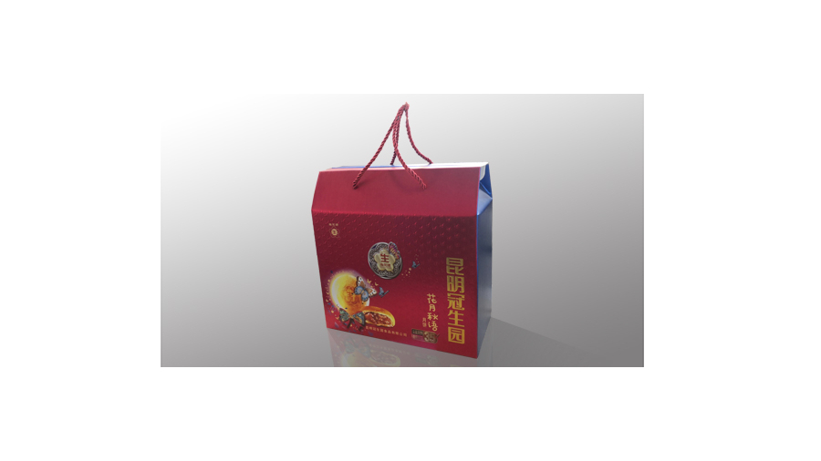 冠生园手提瓦楞月饼盒10165712
