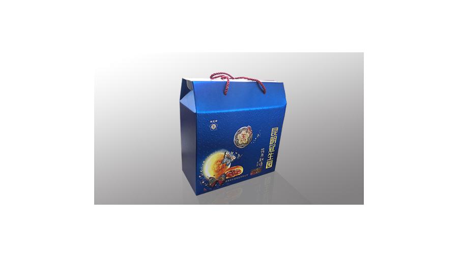 冠生园手提瓦楞月饼盒