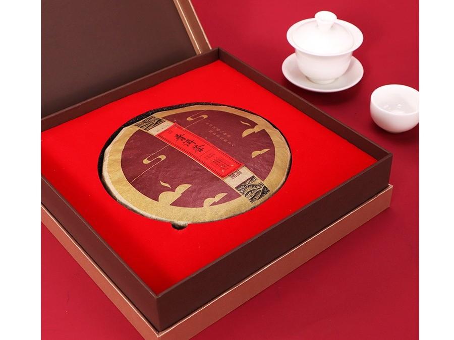 普洱饼茶【茶叶礼盒】-定制-厂家-规格-图片