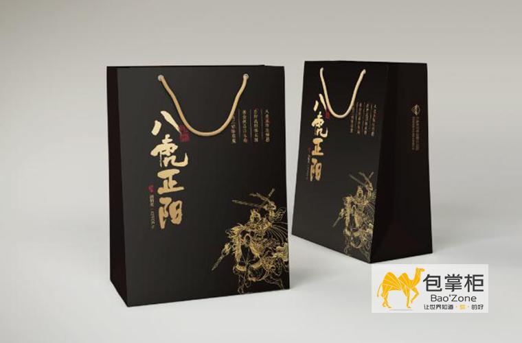 八虎正阳酒包装设计