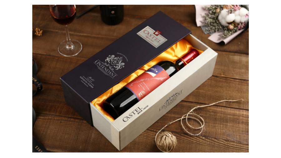 抽拉款【红酒礼盒】-定制-厂家-规格-图片