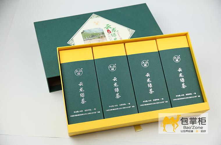 云龙绿茶茶叶礼盒