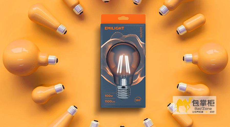 照明灯具包装设计