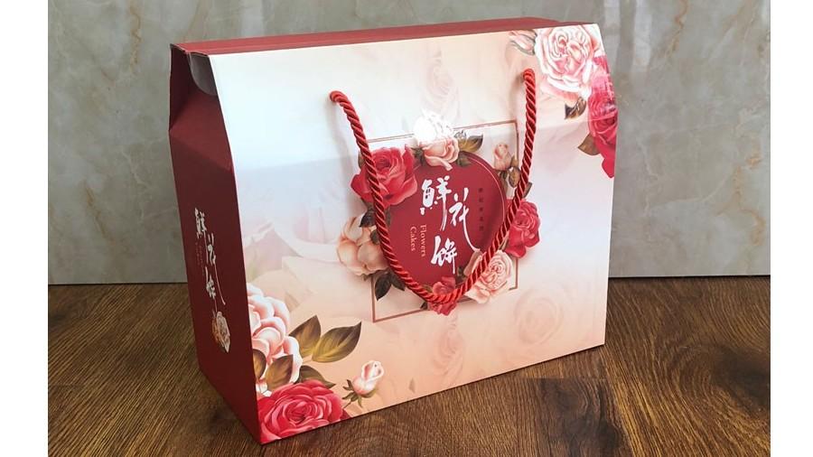 鲜花饼纸盒【食品包装】-定制-厂家-规格-图片