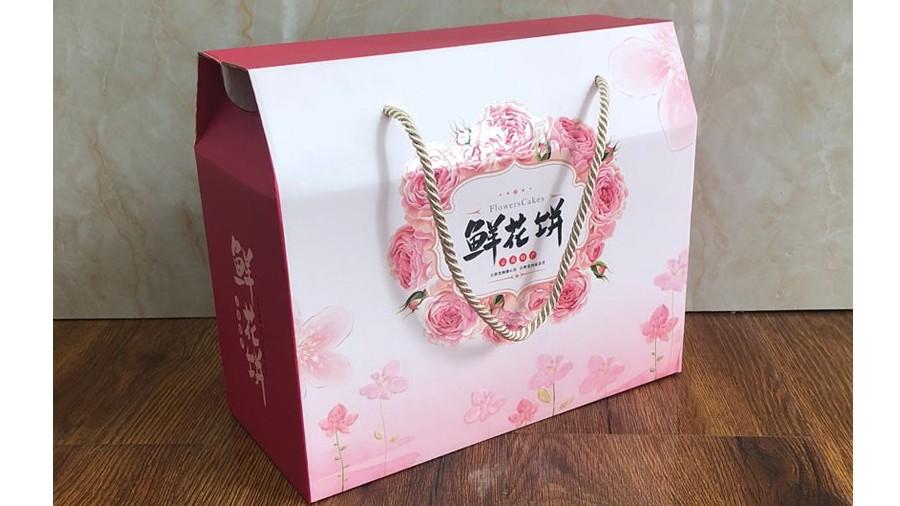 鲜花饼【食品彩箱】-定制-厂家-规格-图片