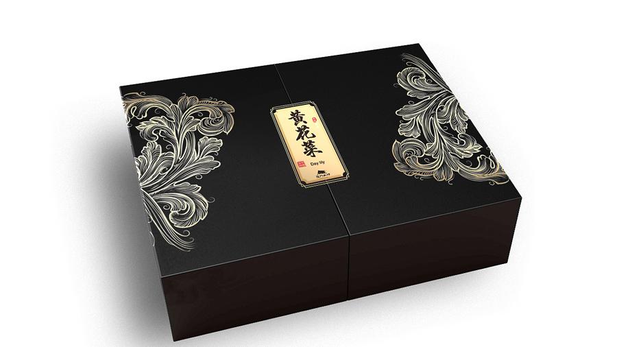 黄花菜【茶叶礼盒】-定制-厂家-规格-图片