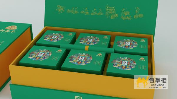高档月饼包装盒设计的几大要点一定要注意