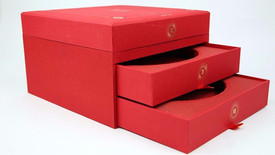 茶叶包装盒 春节礼品套包装
