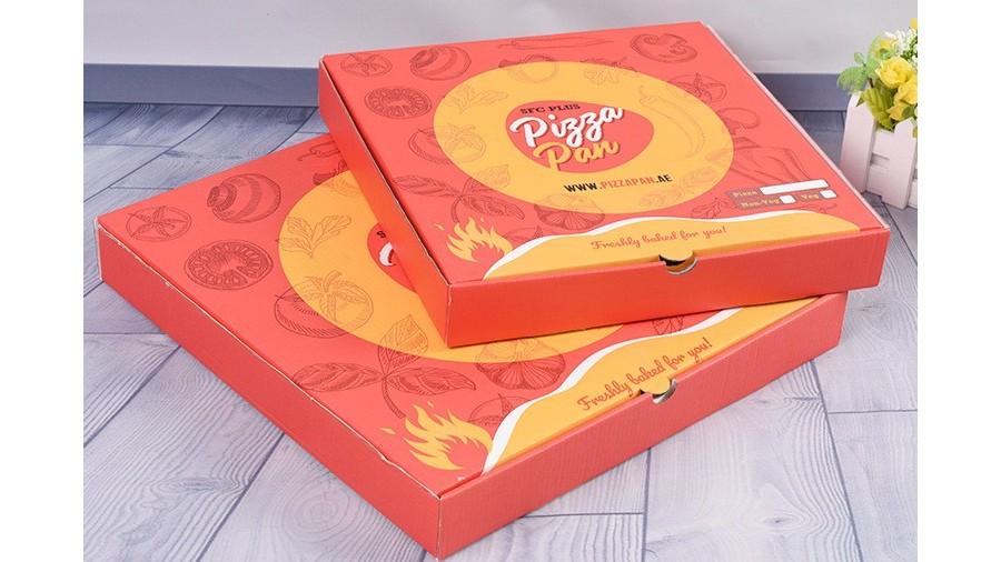 披萨盒【食品包装】-定制-厂家-规格-图片