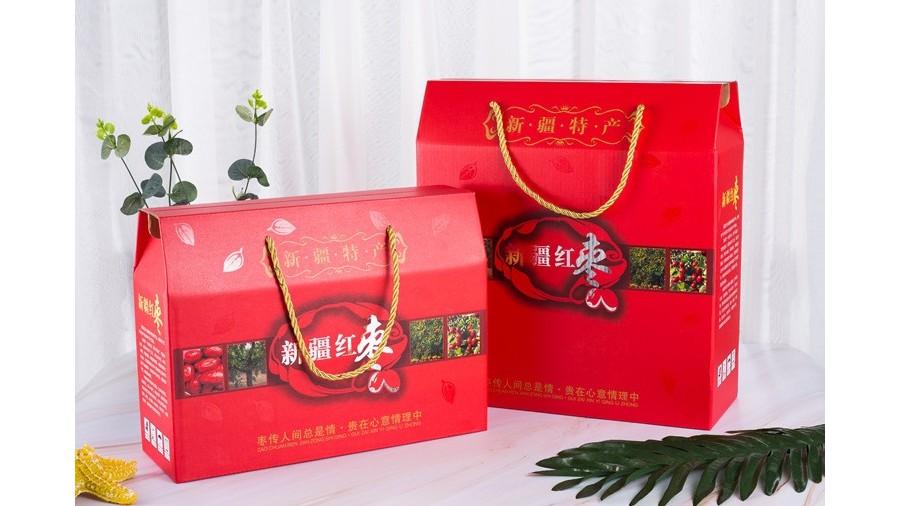 红枣【水果彩箱】-定制-厂家-规格-图片