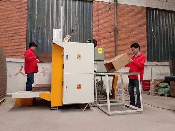 包装厂自动钉箱设备