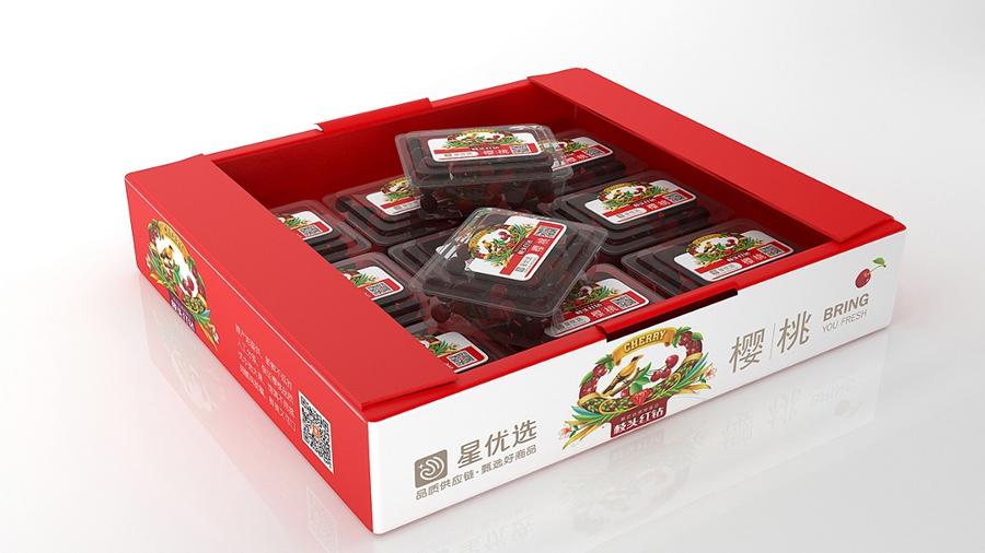 水果包装礼盒定做