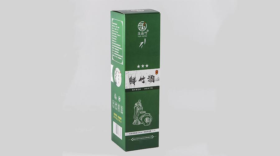 鲜竹酒【白酒礼盒】-定制-厂家-规格-图片
