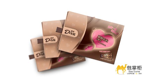 德芙巧克力包装设计采用的策略