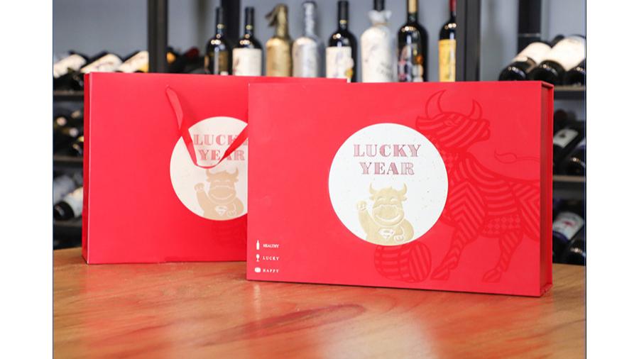全家牛【红酒礼盒】-定制-厂家-规格-图片