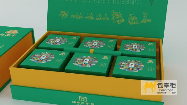粽子包装盒-美味的粽子从包装开始