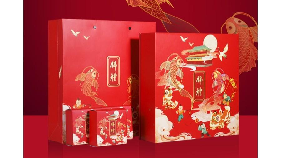 锦鲤【月饼礼盒】-定制-厂家-规格-图片