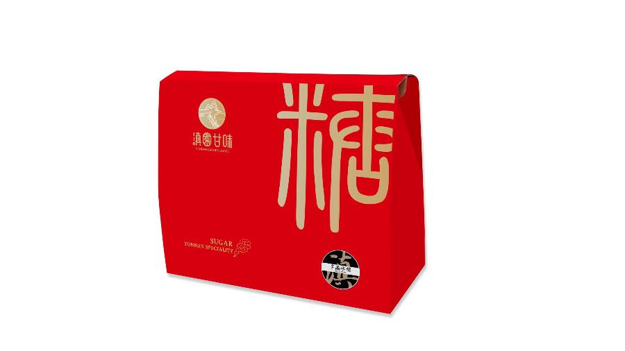 红糖礼盒包装设计
