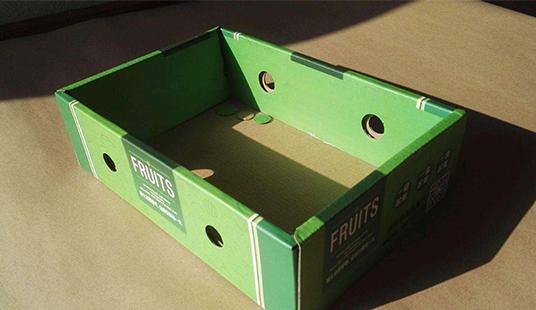 水果天地盖瓦楞盒