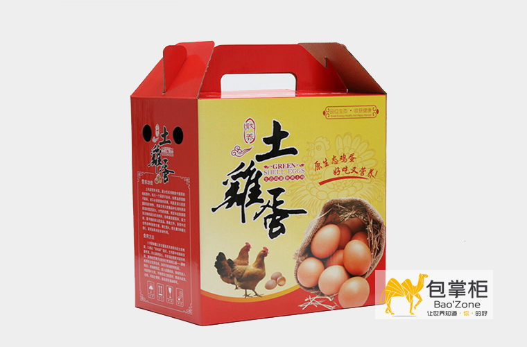土鸡蛋包装设计