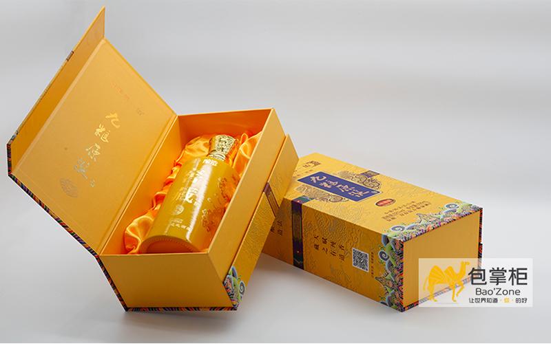九粮原浆白酒礼盒