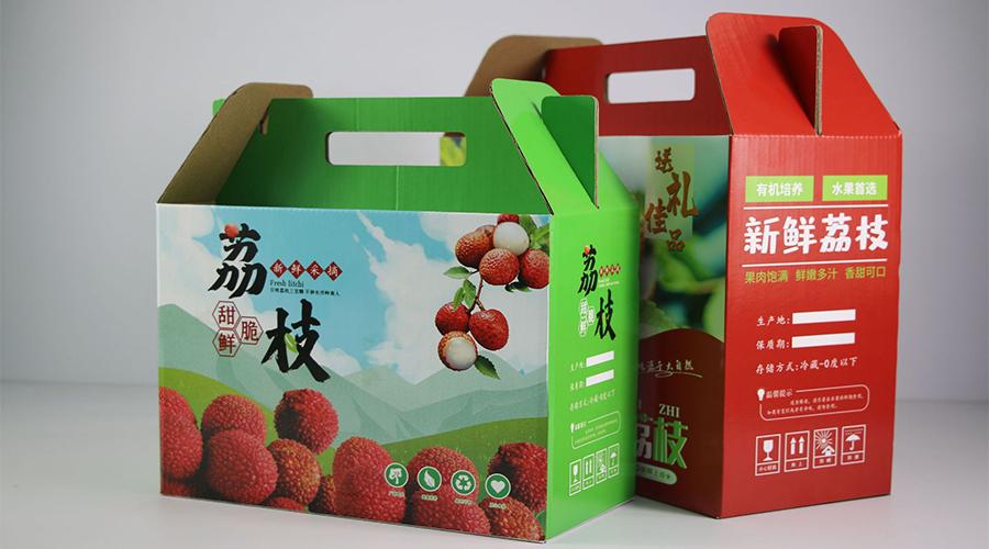 荔枝礼盒【水果彩箱】-定制-厂家-规格-图片