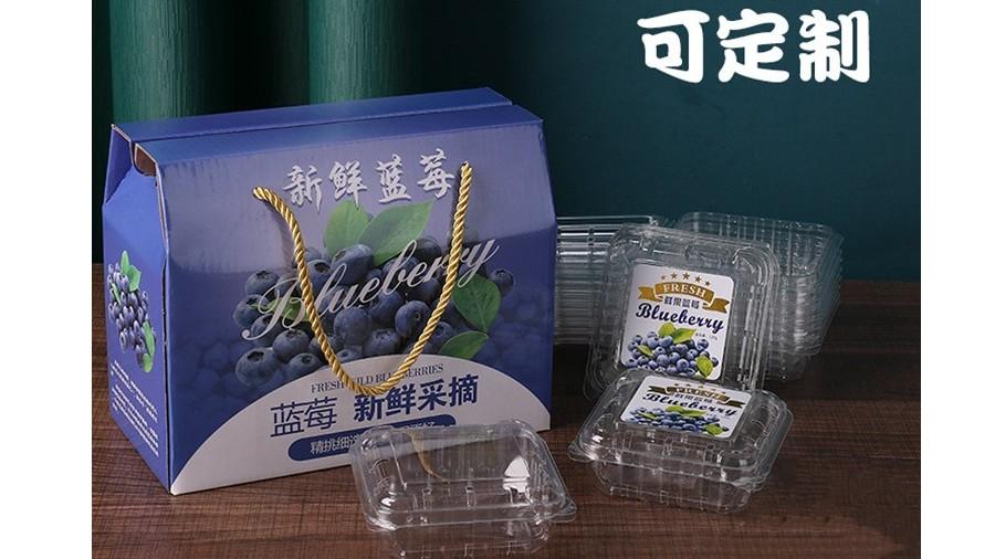 蓝莓礼盒【水果彩箱】-定制-厂家-规格-图片