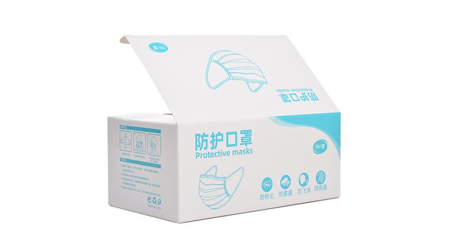 口罩【卡盒包装】-定制-厂家-规格-图片