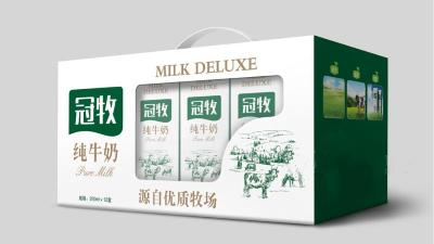 常用的乳品包装设计风格有哪些?