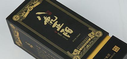 八虎正阳酒包装盒形象战略!