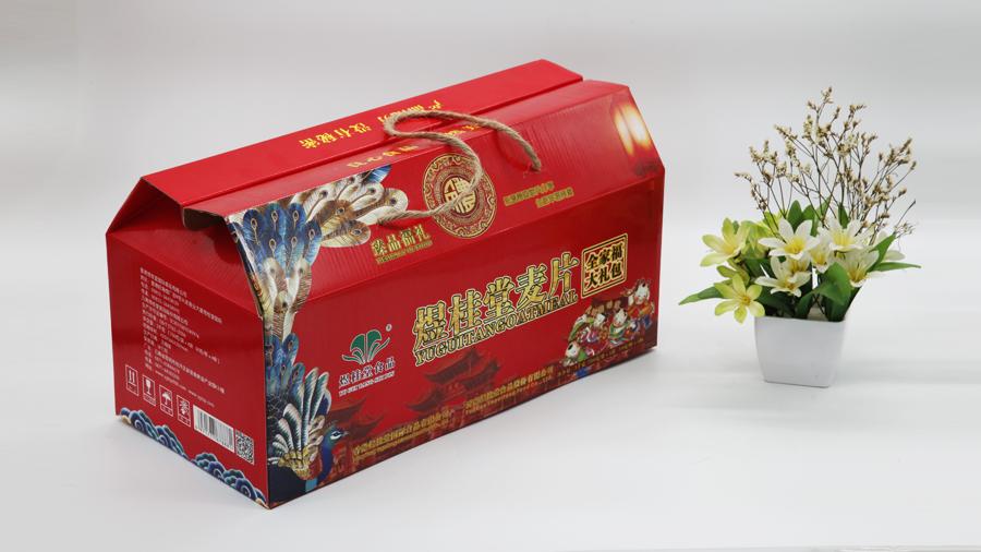 麦片瓦楞礼盒