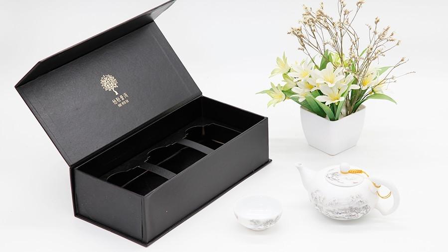 柏联普洱茶叶包装 盒-展开图